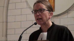 Nathalie Chaumet Pasteur de l'église protestante unie de l'Annonciation